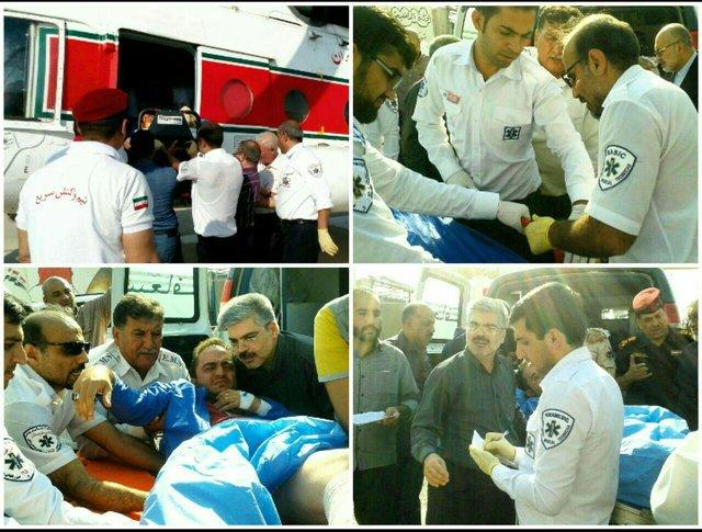 شناسایی مجروحان ایرانی حادثه تروریستی روز گذشته عراق