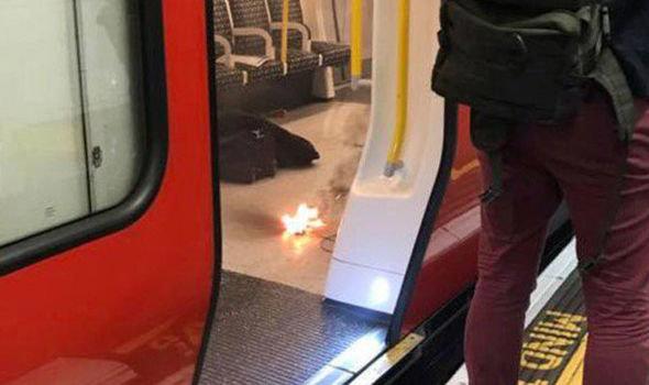 حادثه در ایستگاهی در شهر لندن