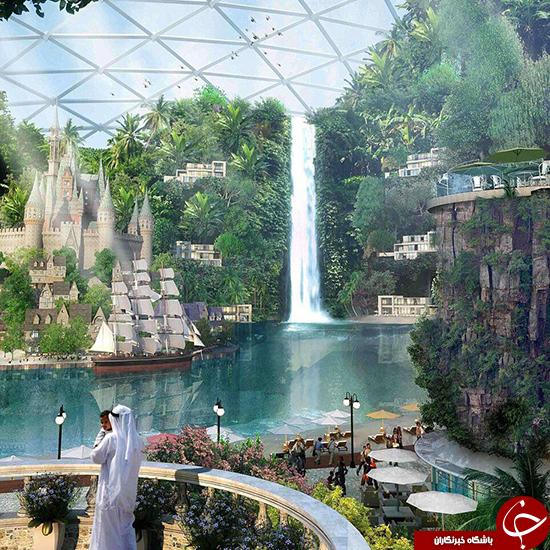 ساخت شهری متفاوت در دبی