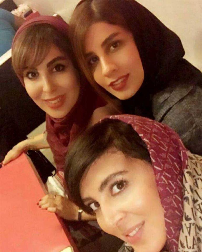 عکس خانوادگی از هنرپیشه زن