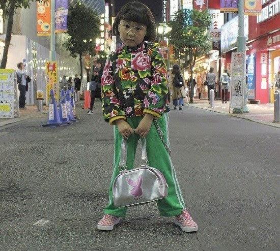 کوکو ستاره ژاپنی شش ساله