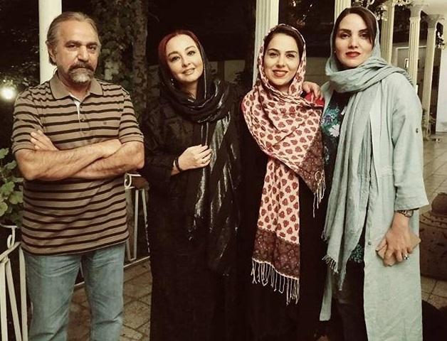 حضور بازیگران زن و پرویز پرستویی در لسآنجلس تهران