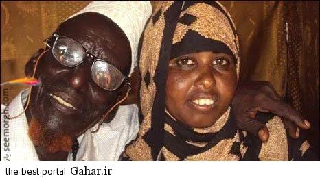 ازدواج یک پیرمرد برای ششمین بار