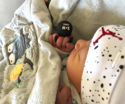 تصویر جدید از فرزند دوم روناک یونسی