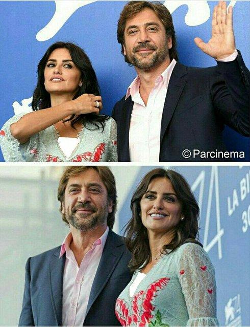 تازه ترین تصاویر از پنه لوپه کروز و همسرش