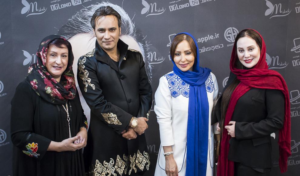 حضور چهره های سینما و تلویزیون در کنسرت شهرام شکوهی