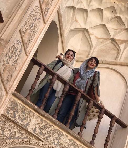 سفر هانیه توسلی به شهری تاریخی