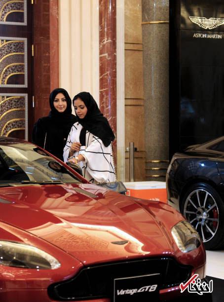 خرید ماشین توسط زنان عربستانی