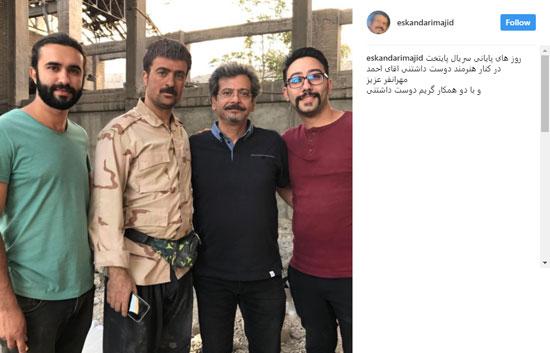 مجید اسکندری در پشت صحنه پایتخت 5