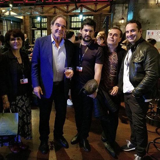 بازیگر ایرانی در کنار رئیس هیئت داوران جشنواره فیلم بوسان