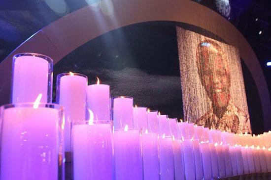 نلسون ماندلا در مراسم ویژه