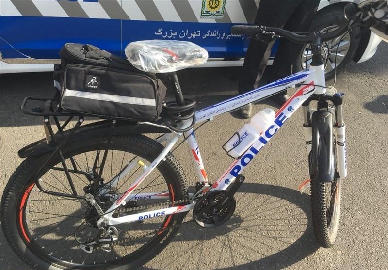 دوچرخه سواری نیروی پلیس