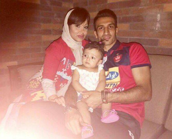 عکس خانوادگی حسین ماهینی