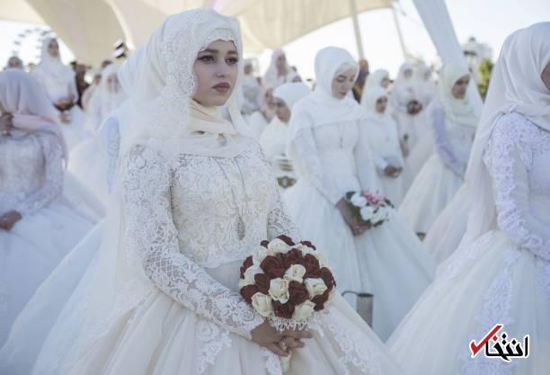 199 زوج در چچن به خانه بخت رفتند