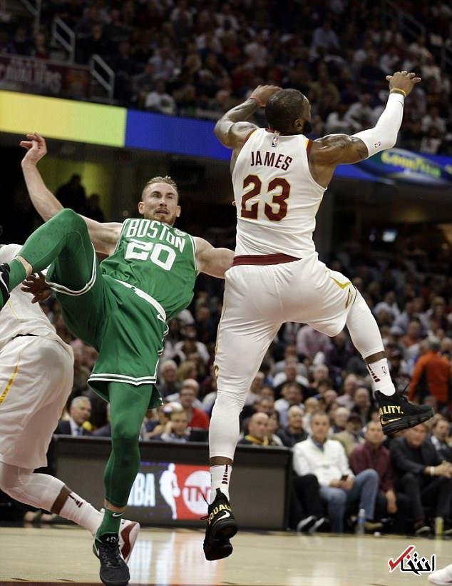 تصاویری هولناک از مصدومیت وحشتناک بسکتبالیست مشهور