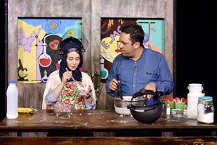 آشپزی نیتروژنی بازیگر زن