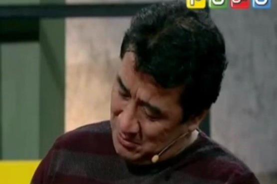 اشک فوتبالیست مشهور در برنامه هزار داستان