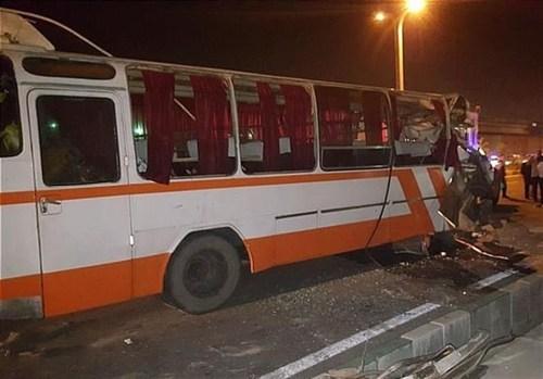 حادثه در بزرگراه فتح