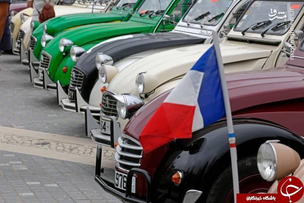 رالی نمایشی با قدیمی ترین ماشین ها