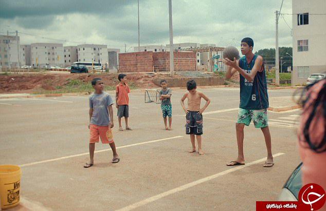 گابریل قد بلندترین کودک دوازده ساله