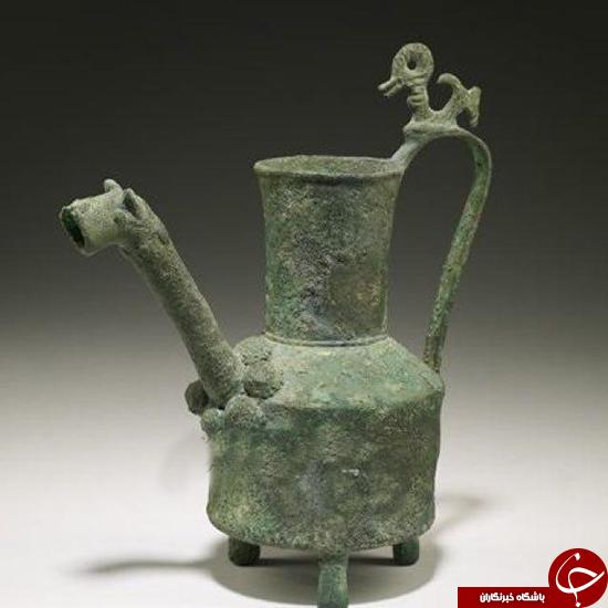 کشف آفتابه عتیقه با قدمت 2600 ساله