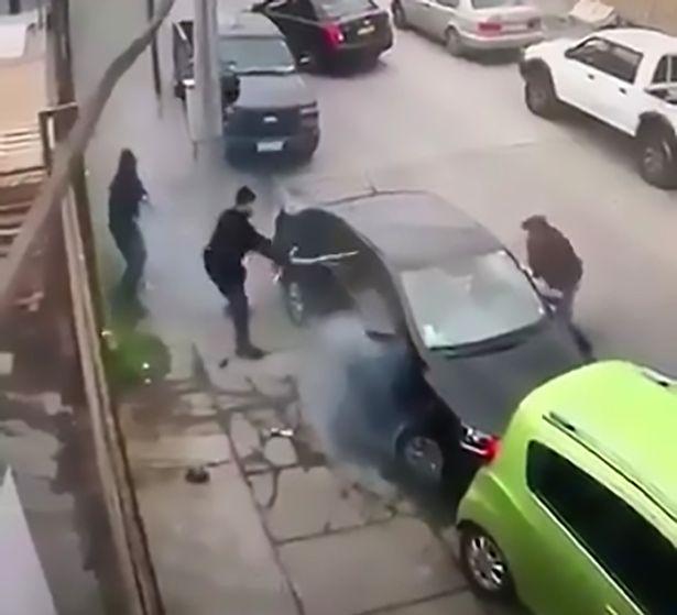 سرقت خودرویی که ناکام ماند