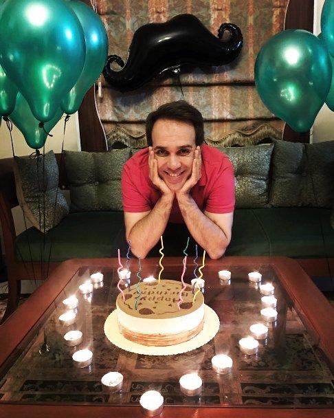 جشن تولد سی و هشت سالگی امیر کربلایی