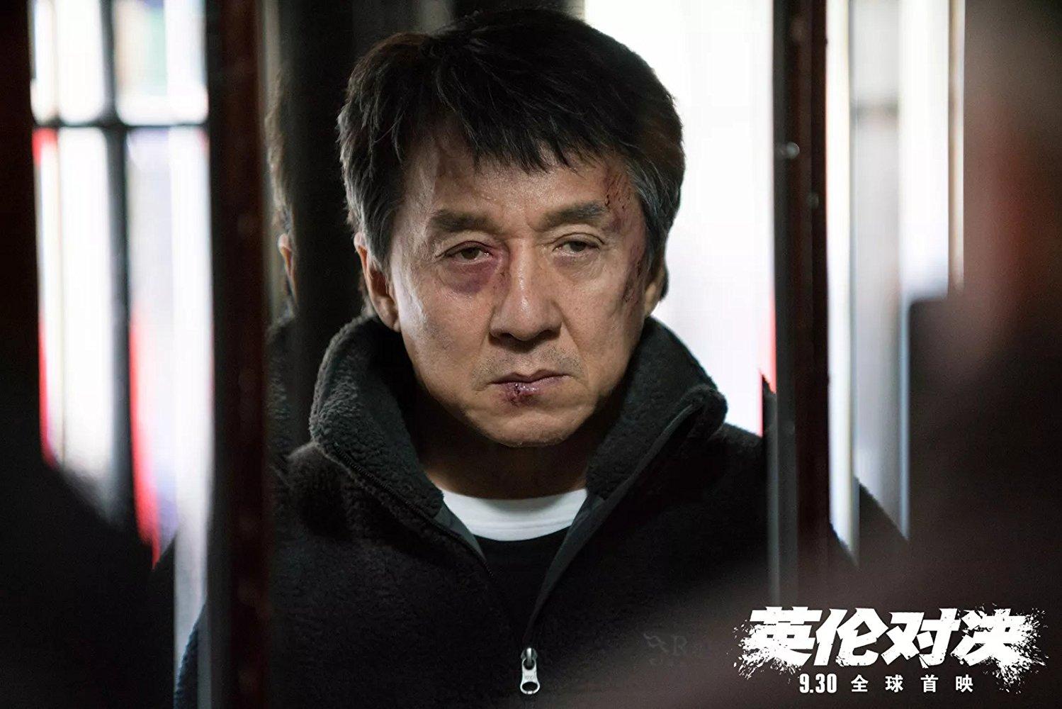 جکی چان در یک فیلم اکشن