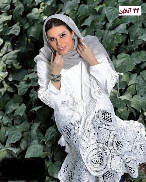 سحر دولتشاهی با لباسی متفاوت