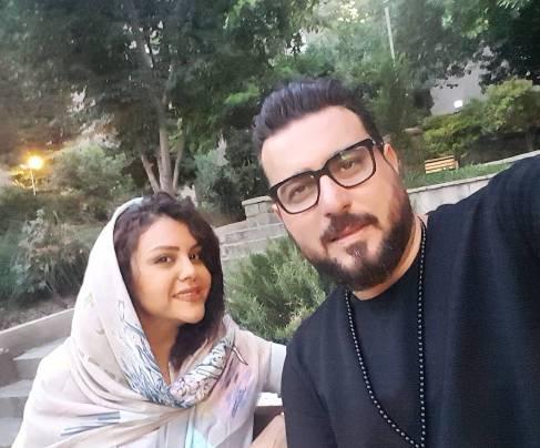 جشن تولد همسر محسن کیایی
