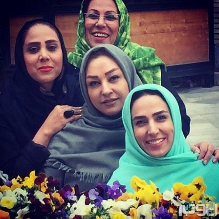 عکس خواهرانه از سوگل طهماسبی