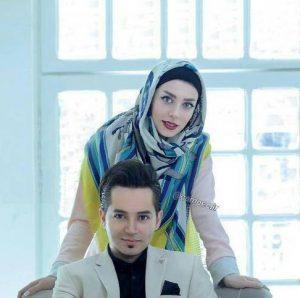 تازه ترین عکس از شهنام شهابی و همسرش