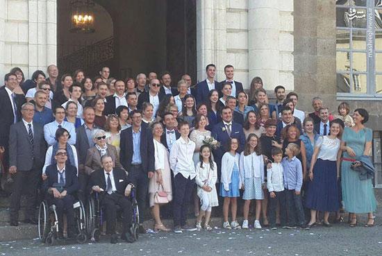 مراسم ازدواج مردم فرانسه