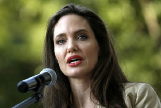 سخنرانی آنجلینا جولی درباره خشونت جنسی