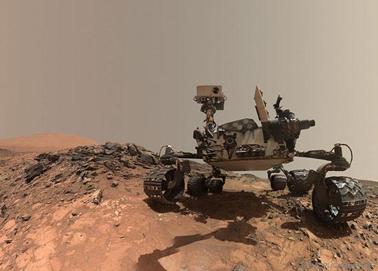 جالب ترین عکس ناسا در مریخ