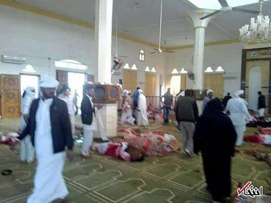 حمله تروریستی به مسجدی در مصر