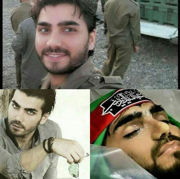 داوود عابدی و شهید مدافع حرم