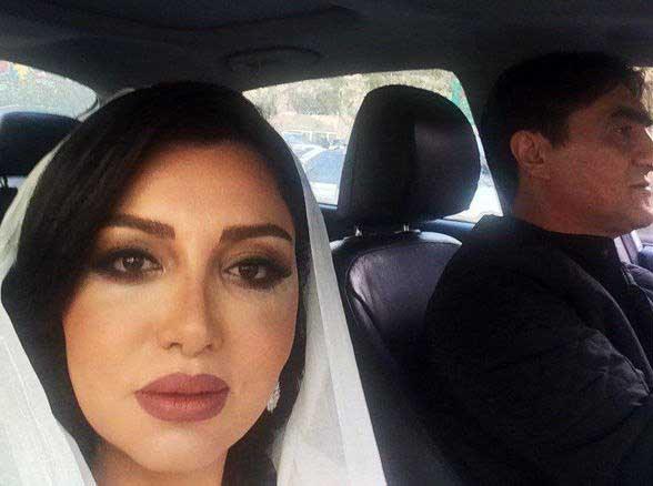 تصویر دیده نشده از همسر جدید ناصر محمد خانی