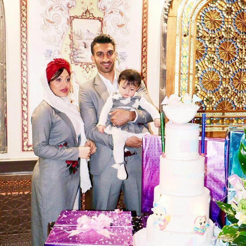 تازه ترین عکس خانوادگی از حسین ماهینی