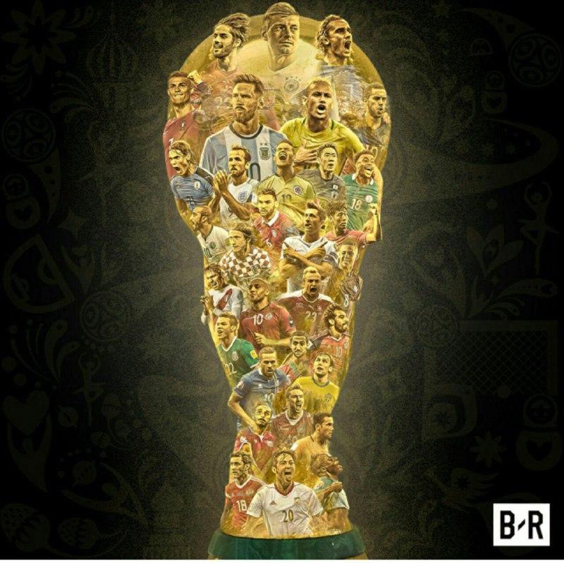 تصویر فوتبالیست ایرانی روی کاپ جام جهانی