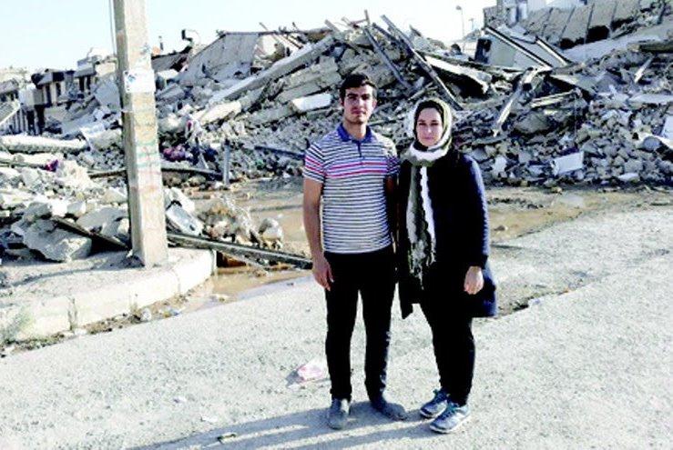 معجزه زنده ماندن زن از زیر آوار زلزله