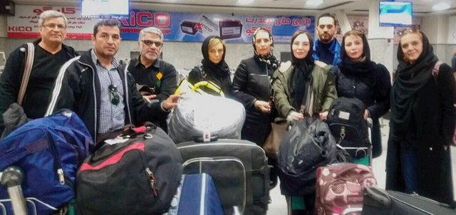 سفر جمعی از سینماگران به کرمانشاه