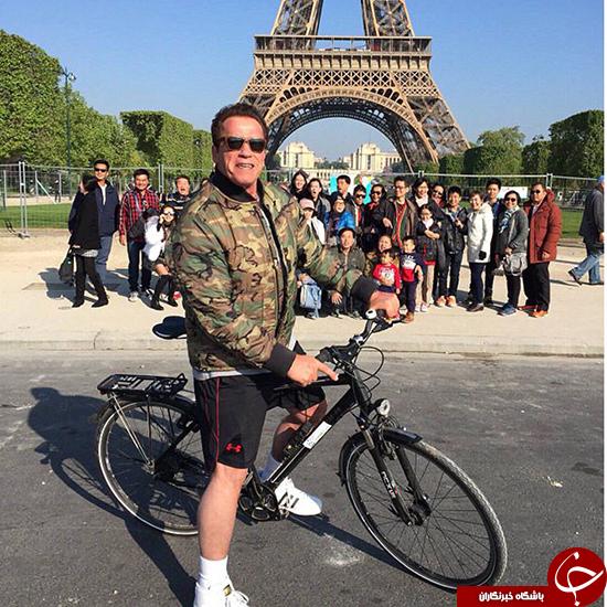 آرنولد شوارتزنگر در پاریس