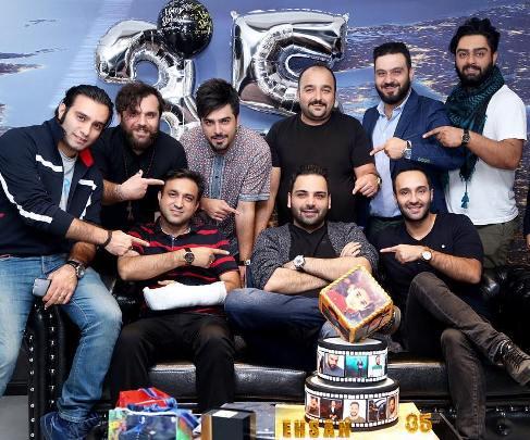 جشن تولد احسان علیخانی با رفقا