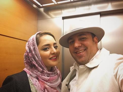 تازه ترین عکس از علی اوجی با همسرش