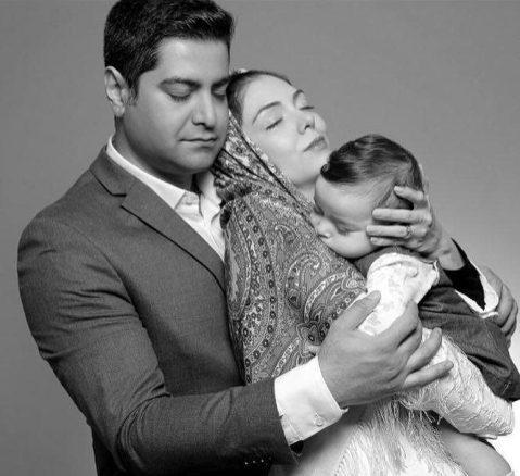 جدیدترین عکس خانوادگی آزاده نامداری