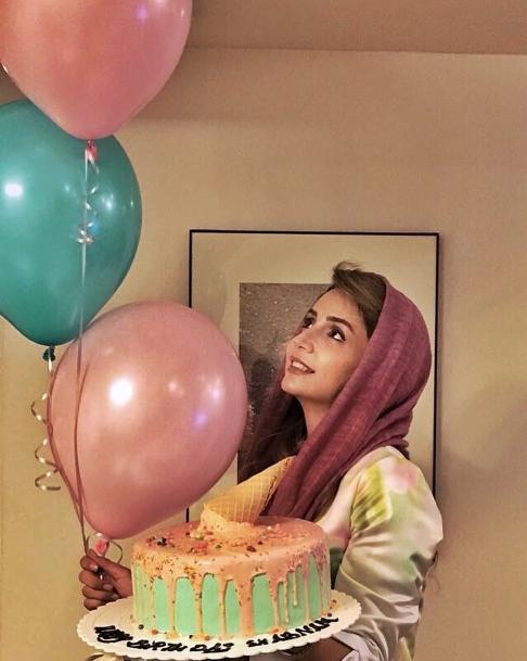 تولد چهل سالگی بازیگر زن