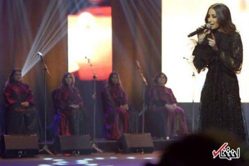 هبه طوجی نخستین کنسرت را در عربستان اجرا کرد