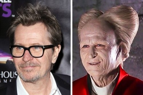 جالب ترین گریم های حرفه ای بازیگران مشهور هالیوودی