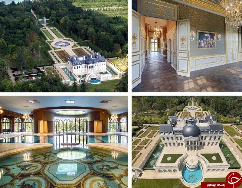 کاخ مجلل شاهزاده سعودی